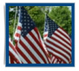 Polyester Outdoor American Flags